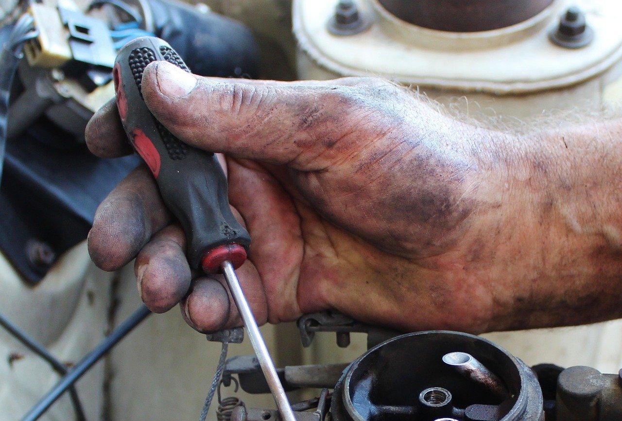 Praca mechanika.